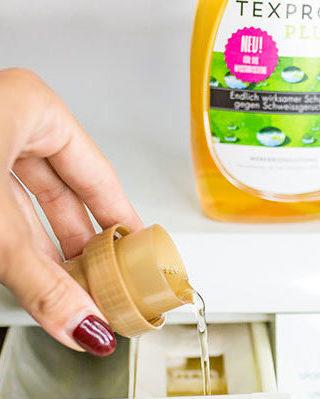 TexPro Plus in der Waschmaschine