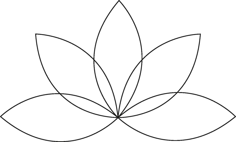 Lotus stilisiert